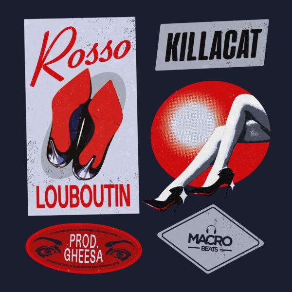 Killacat-cd-singolo-rosso-Louboutin-2020-spotify